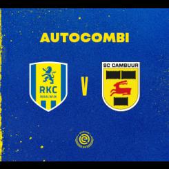Autocombi RKC Waalwijk - SC Cambuur