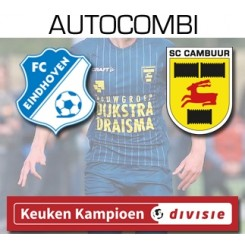 Autocombi FC Eindhoven - SC Cambuur