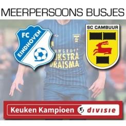 meerpersoonsbusjes FC Eindhoven - SC Cambuur